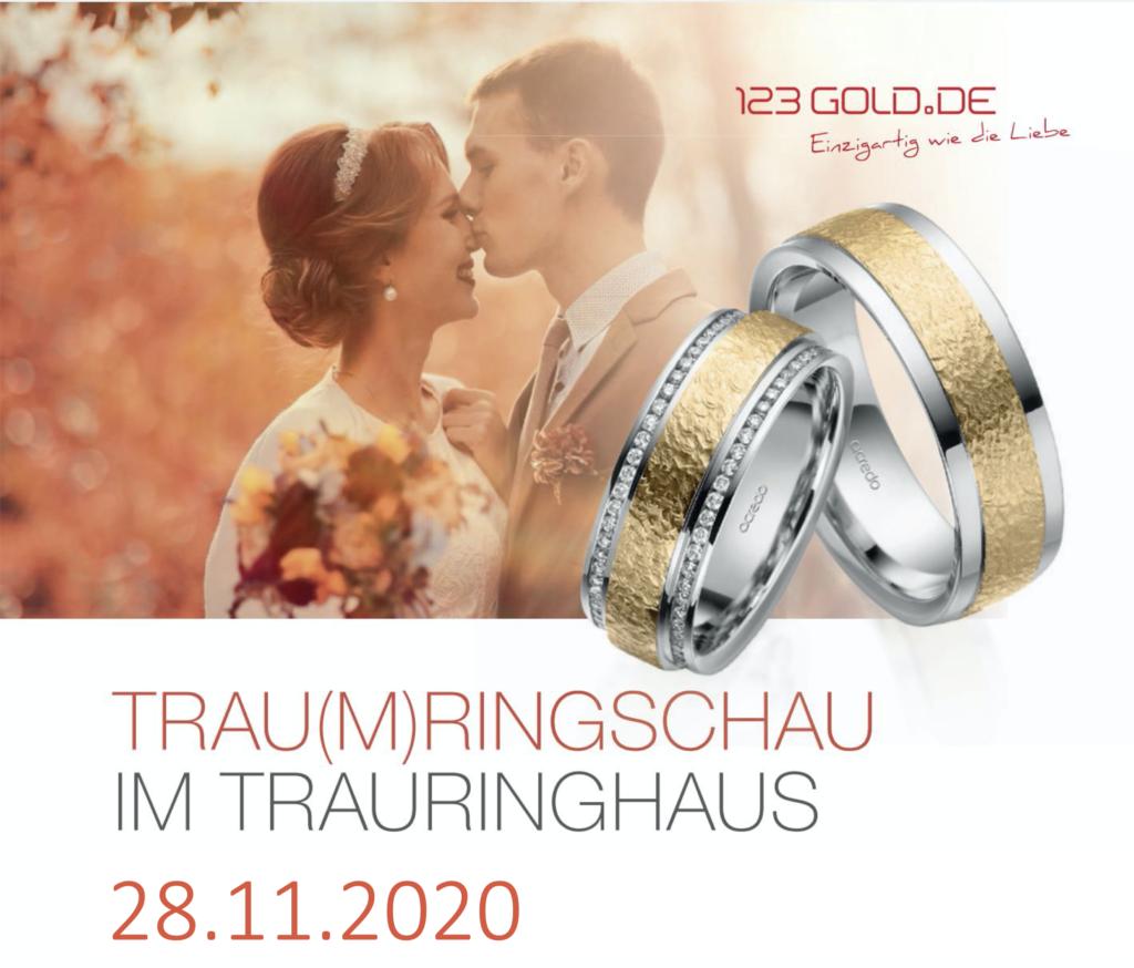 Hochzeitsmesse, Leipziger Landhochzeit, Hausmesse, Trauringhaus, Eheringe, Trauringe, Verlobungsringe, Rabatt, Brautpaar, 123gold